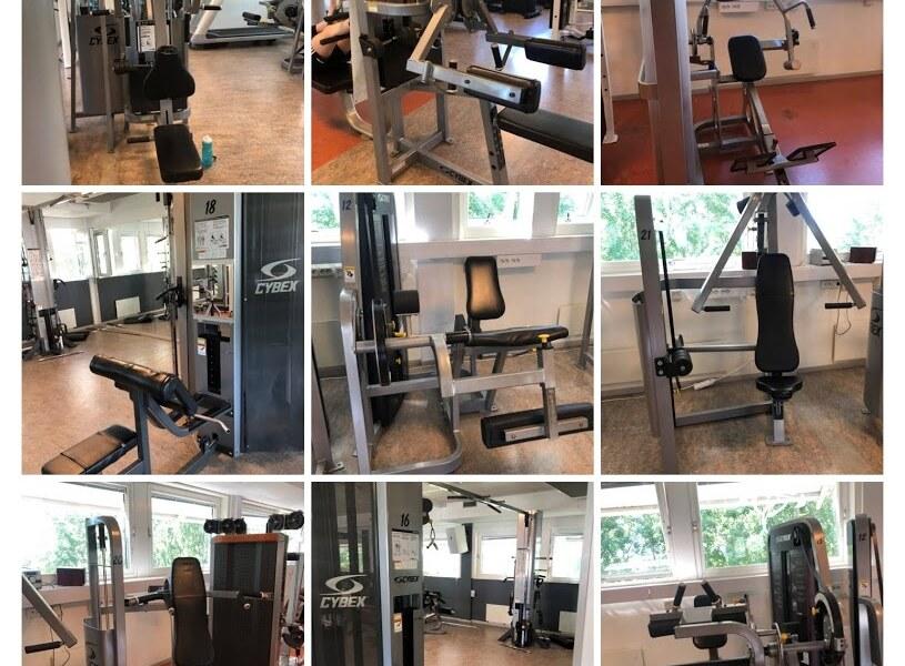 Träningsmaskiner och Gymmaskiner Skåne