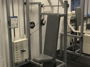Nordic Gym by GymPartner Sittande ryggdrag