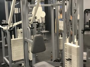 Nordic gym by GymPartner Sittande rodd